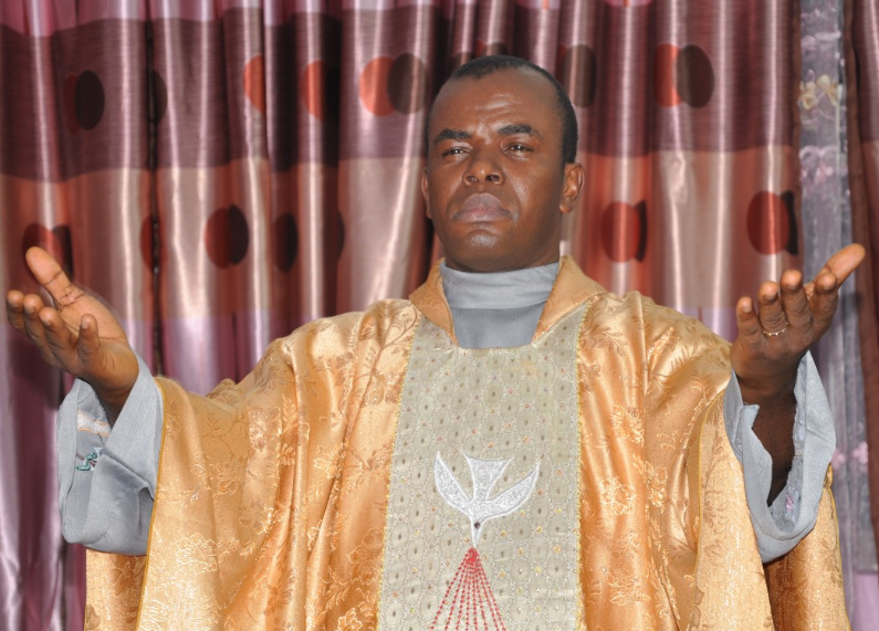 CATHOLIC CHURCH BANS FR. MBAKA FROM COMMENTING ON 'PARTISAN POLITICS'