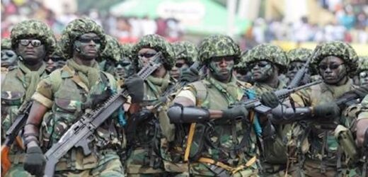 NIGERIAN ARMY BEGINS MASSIVE SHOOTING IN RIVERS. PHOTOS