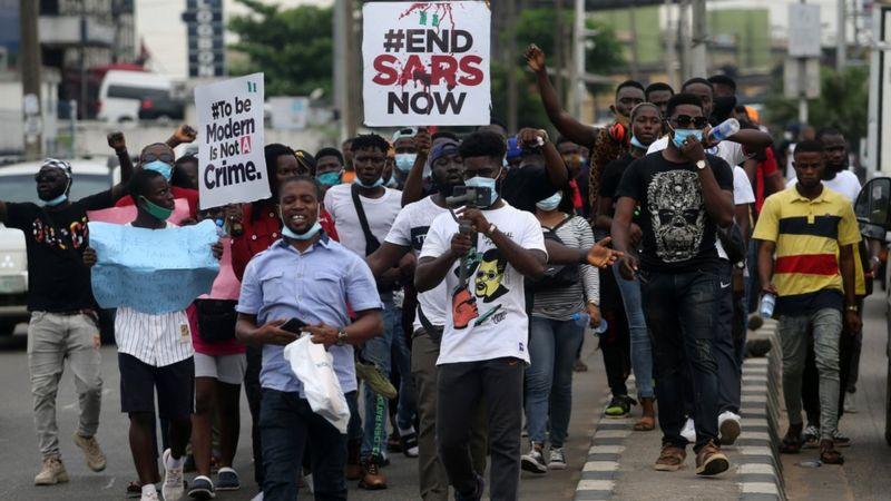 JUNE 12: TIWA SAVAGE, TOKE, MAKINWA, SMALL DOCTOR, MR MACARONI, OTHERS JOIN PROTEST IN LAGOS