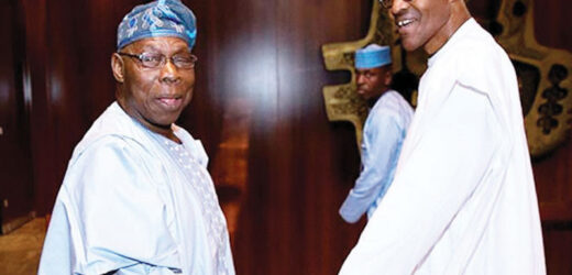 RUMOUR OF BUHARI BEING DEAD AND REPLACED BY JIBRIL FROM SUDAN IS RIDICULOUS – OBASANJO (PHOTOS)