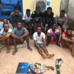 POLICE FOIL ROBBERY ATTACK, ARREST ELEVEN SUSPECTED CULTISTS IN DELTA. PHOTOS