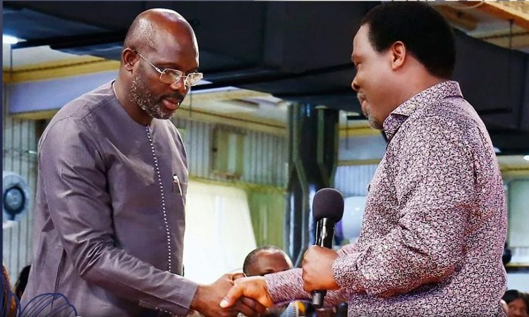 I'M SADDENED BY T.B. JOSHUA'S DEATH, HE IMPACTED MY LIFE – PRESIDENT WEAH