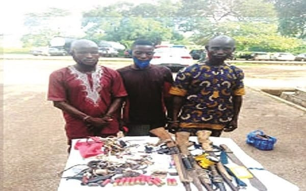 THREE SUSPECTS ARRESTED FOR KILLING SIX COWS, INJURING 13 OTHERS IN OYO (PHOTOS)