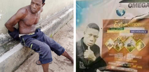 PASTOR ALLEGEDLY KILLS WIFE, BURIES CORPSE IN SHALLOW GRAVE IN AKWA IBOM (PHOTOS)