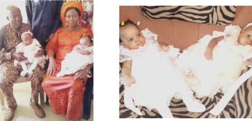 NIGERIAN COUPLE WELCOME TWINS AFTER 16 YEARS OF WAITING (PHOTOS)