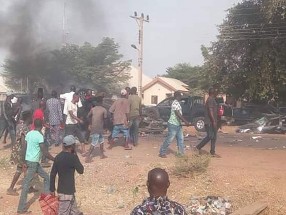 13 KILLED AND POLICE STATION BURNT AS BANDITS ATTACK COMMUNITIES IN NIGER STATE (PHOTOS)