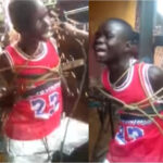 HEARTBREAKING FOOTAGE SHOWS BOY BEGGING FOR MERCY AS HE'S TIED TO A METAL CROSS AND SUBJECTED TO MULTIPLE ELECTRIC SHOCKS (PHOTOS)