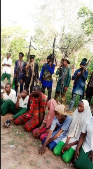 BANDITS RELEASE PHOTOS OF ABDUCTED KEBBI TEACHERS AND STUDENTS (PHOTOS)