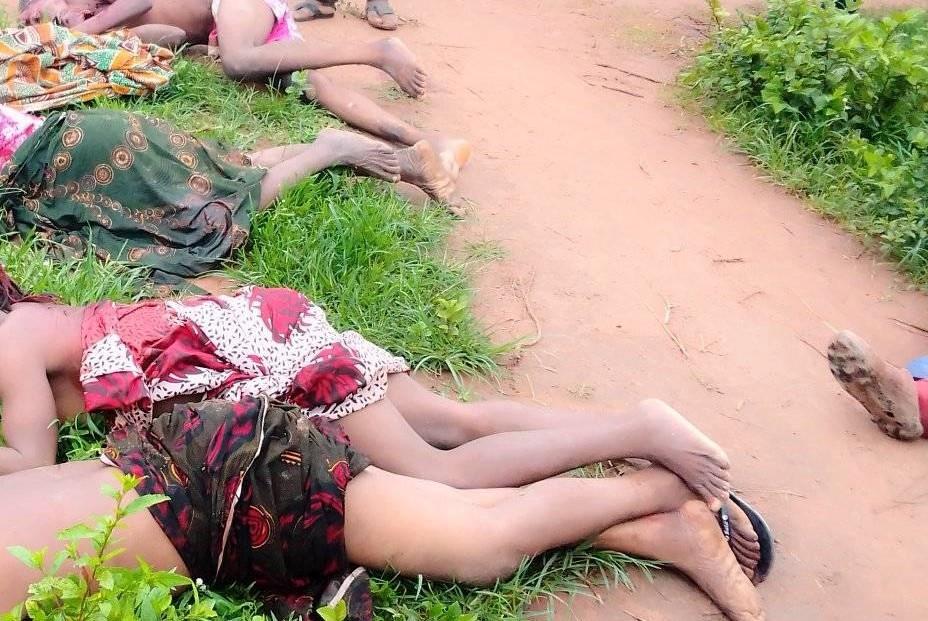 SUSPECTED FULANI HERDSMEN KILL FOUR WOMEN, 2 OTHERS IN NASARAWA. PHOTOS