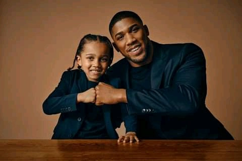 ANTHONY JOSHUA SHARES PHOTOS WITH HIS SON TO CELEBRATE FATHER'S DAY (PHOTOS)