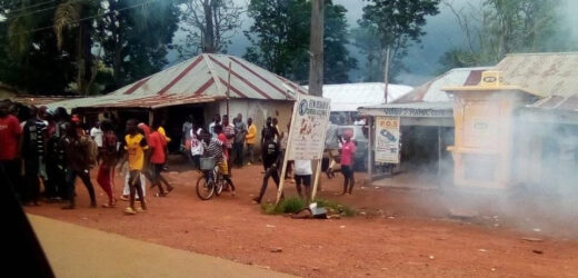 SECURITY OPERATIVES REPORTEDLY OPEN FIRE ON STUDENTS PROTESTING TUITION HIKE IN KADUNA (PHOTOS)