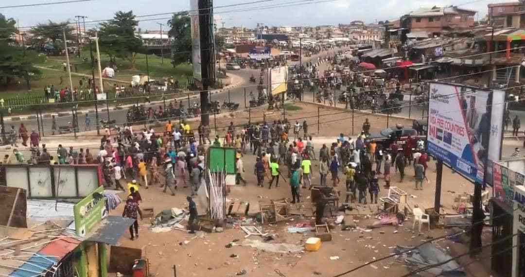 MAN SHOT DEAD AFTER MAKING WITHDRAWALS FROM AN ATM IN IBADAN (PHOTOS)