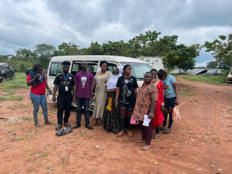 EDO POLICE RESCUE NINE KIDNAPPED TRAVELLERS ON BENIN-AUCHI ROAD