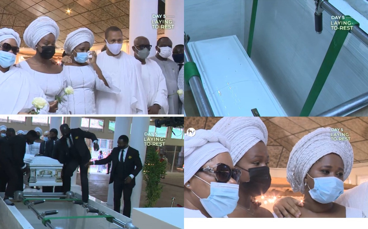BODY OF LATE PROPHET T.B JOSHUA LAID TO REST (PHOTOS)