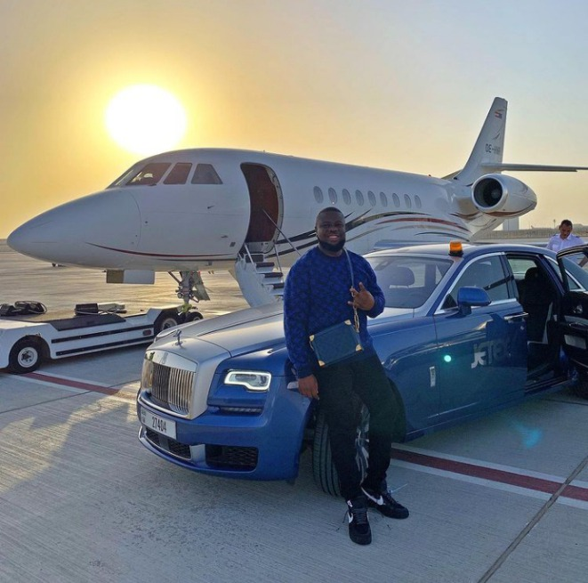 6 EXPENSIVE THINGS HUSHPUPPI BOUGHT THAT MIGHT HAVE GOT THE ATTENTION OF FBI TO START INVESTIGATIONS. PHOTOS
