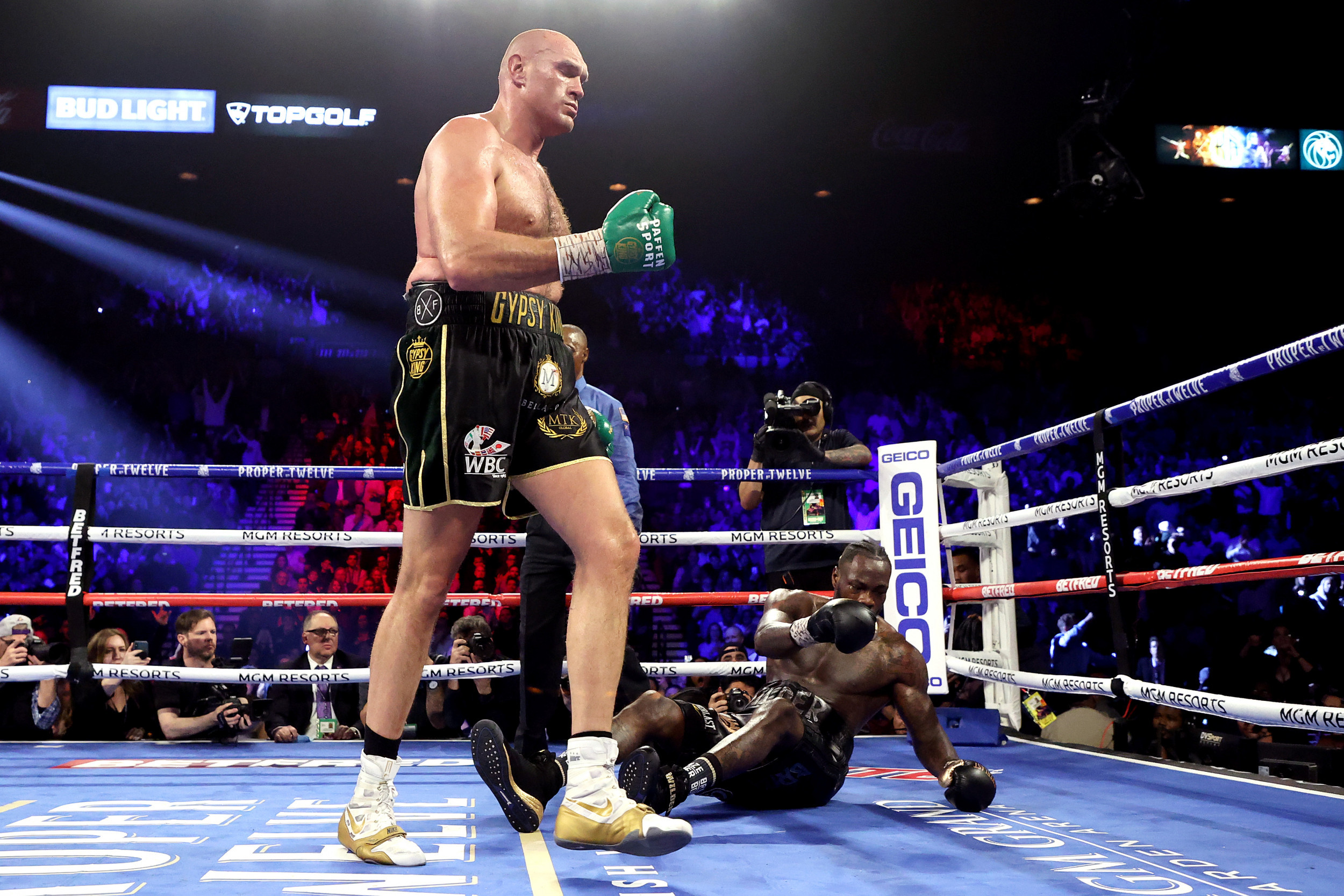 TYSON FURY VS DEONTAY WILDER TRILOGY FIGHT REARRANGED FOR OCTOBER 9 (PHOTOS)