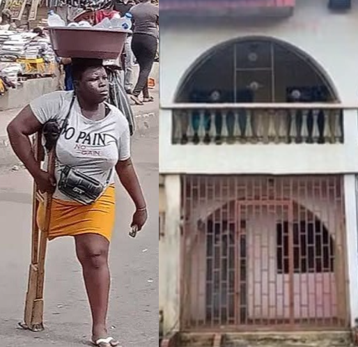 VIRAL LAGOS AMPUTEE HAWKER ACQUIRES N17.5M HOUSE IN LAGOS; NOW CONSTRUCTING PURE WATER FACTORY (PHOTOS)