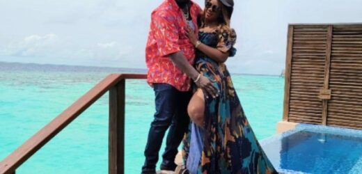 OBI CUBANA, WITH WIFE GOES ON HOLIDAY IN MALDIVES