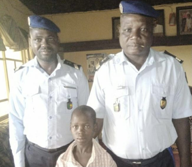 KIDNAPPED 12-YEAR-OLD BOY DISCOVERED INSIDE COFFIN COVERED WITH WHITE CLOTH IN KWARA