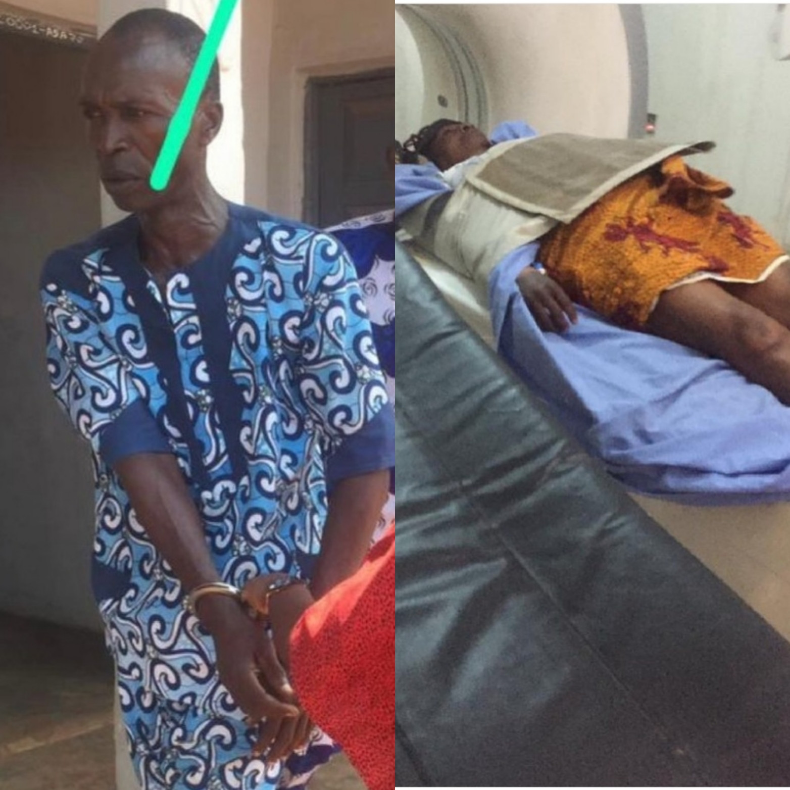 MAN ARRESTED FOR ALLEGEDLY BEATING HIS WIFE TO DEATH BECAUSE SHE REFUSED TO HAVE SEX WITH HIM. PHOTOS AND VIDEO
