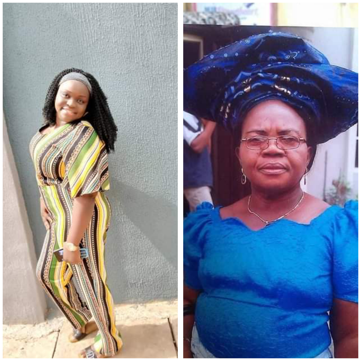 NIGERIAN WOMAN DIES SIX DAYS AFTER HER MOTHER'S DEATH