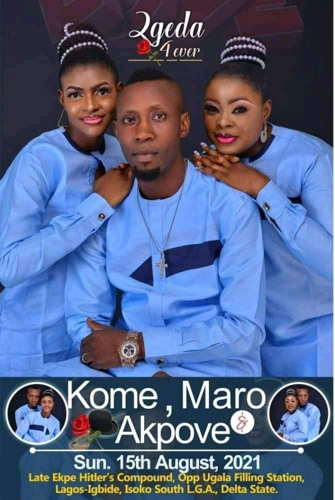 DELTA MAN SET TO WED TWO WOMEN SAME DAY