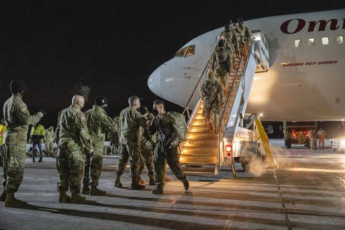 Afghanistan: US Marines arrive in Kabul to evacuate embassy staff while other countries close embassies as Taliban onslaught continues