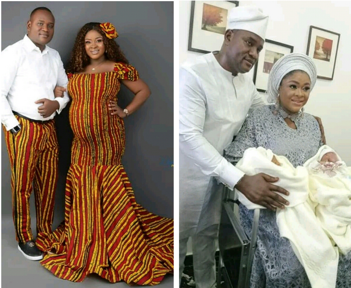 NIGERIAN COUPLE WELCOME TWINS AFTER 13 YEARS OF MARRIAGE (PHOTOS)