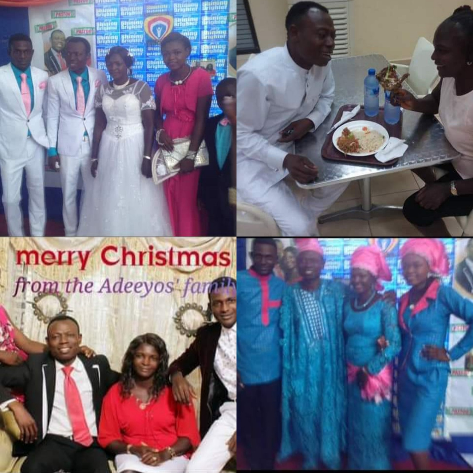 SON OF PASTOR WHO MARRIED MEMBER'S WIFE RELEASES LOVED UP FAMILY PHOTOS OF PASTOR MOSES WITH HIS FIRST WIFE AS HE ASKS PEOPLE TO PRAY FOR HIS FAMILY
