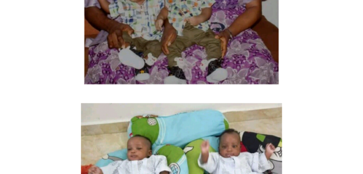 NIGERIAN PASTOR AND HIS WIFE CELEBRATE THE BIRTH OF THEIR TWINS AFTER 14 YEARS OF WAITING. PHOTOS