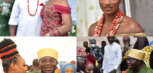 PHOTOS FROM THE TRADITIONAL WEDDING OF ABIA STATE GOVERNOR, OKEZIE IKPEAZU'S SON