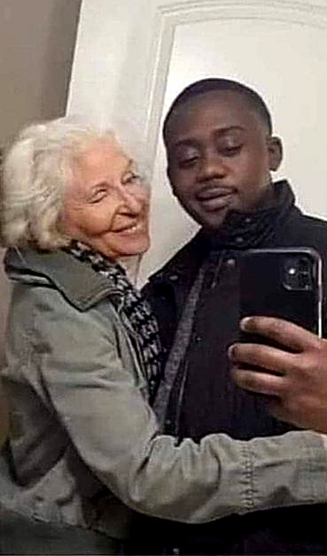 A NIGERIAN YOUNG MAN SET TO MARRY 86 YEARS OLD AMERICAN WOMAN [PHOTOS]