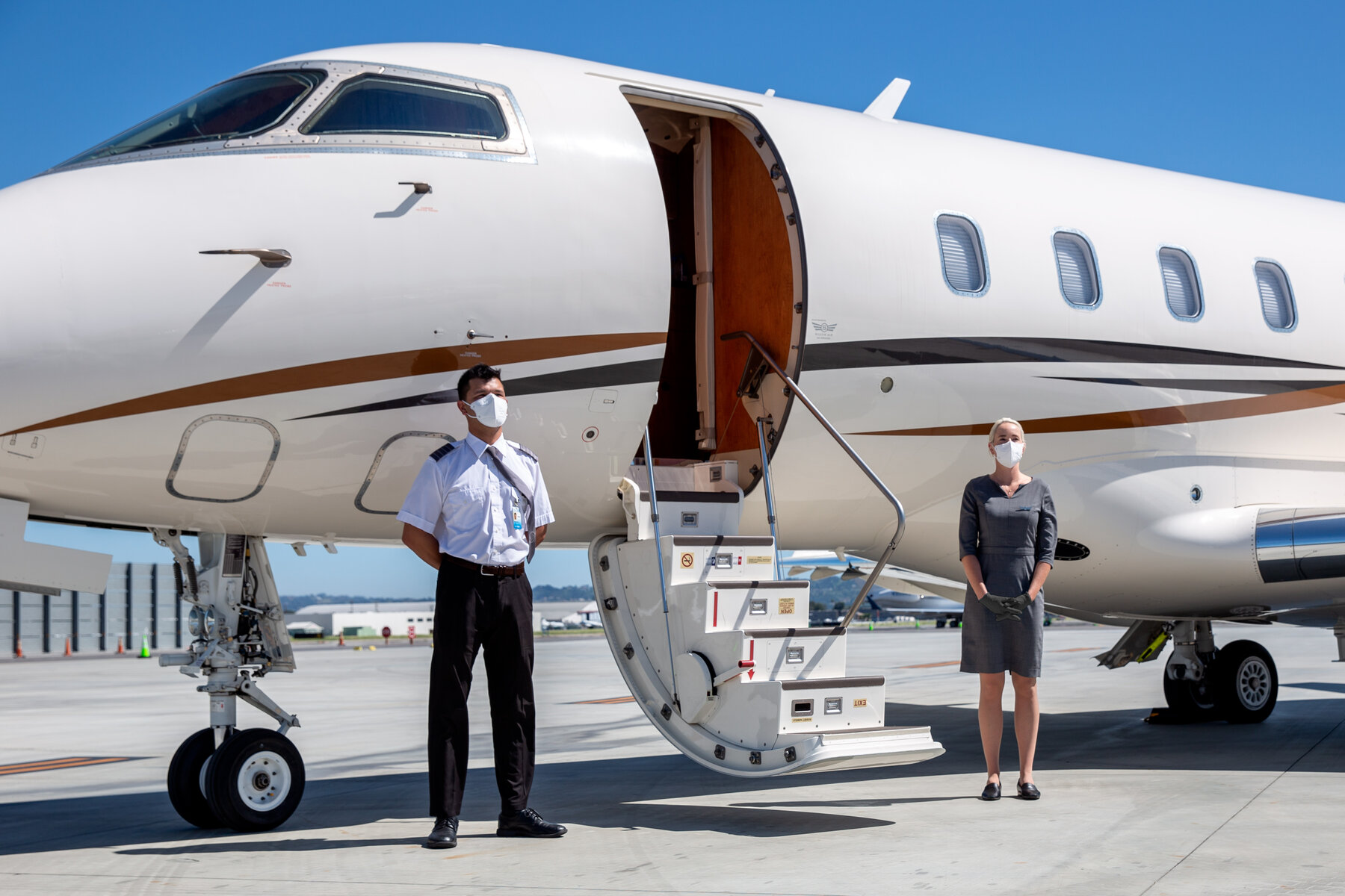 NIGERIAN MAN SHOWS OFF AN ESTATE IN USA WHERE EVERYONE HAS A PRIVATE AIRPLANE