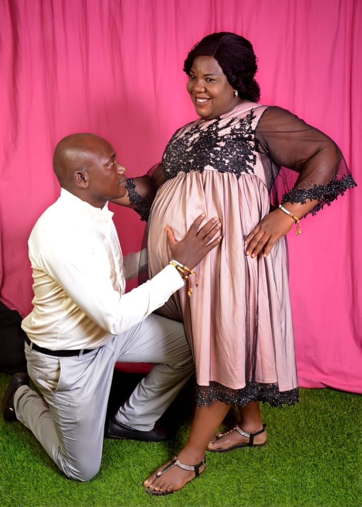 NIGERIAN COUPLE WELCOME BABY GIRL AFTER 15 YEARS (PHOTOS)