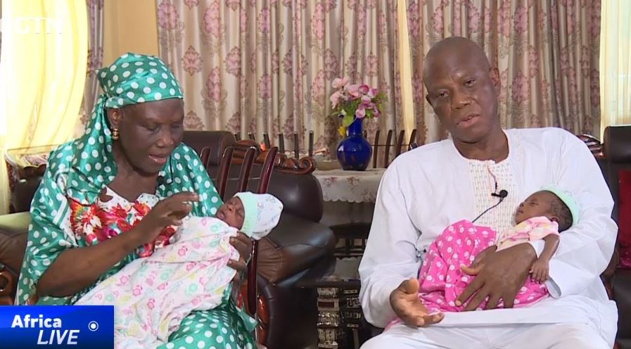 68-YEAR-OLD WOMAN GIVES BIRTH TO TWINS, 46 YEARS INTO MARRIAGE